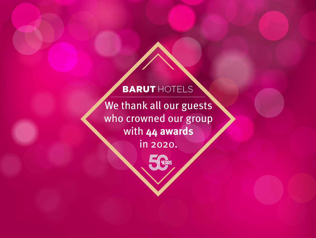 BARUT HOTELS 2020 AWARDS
