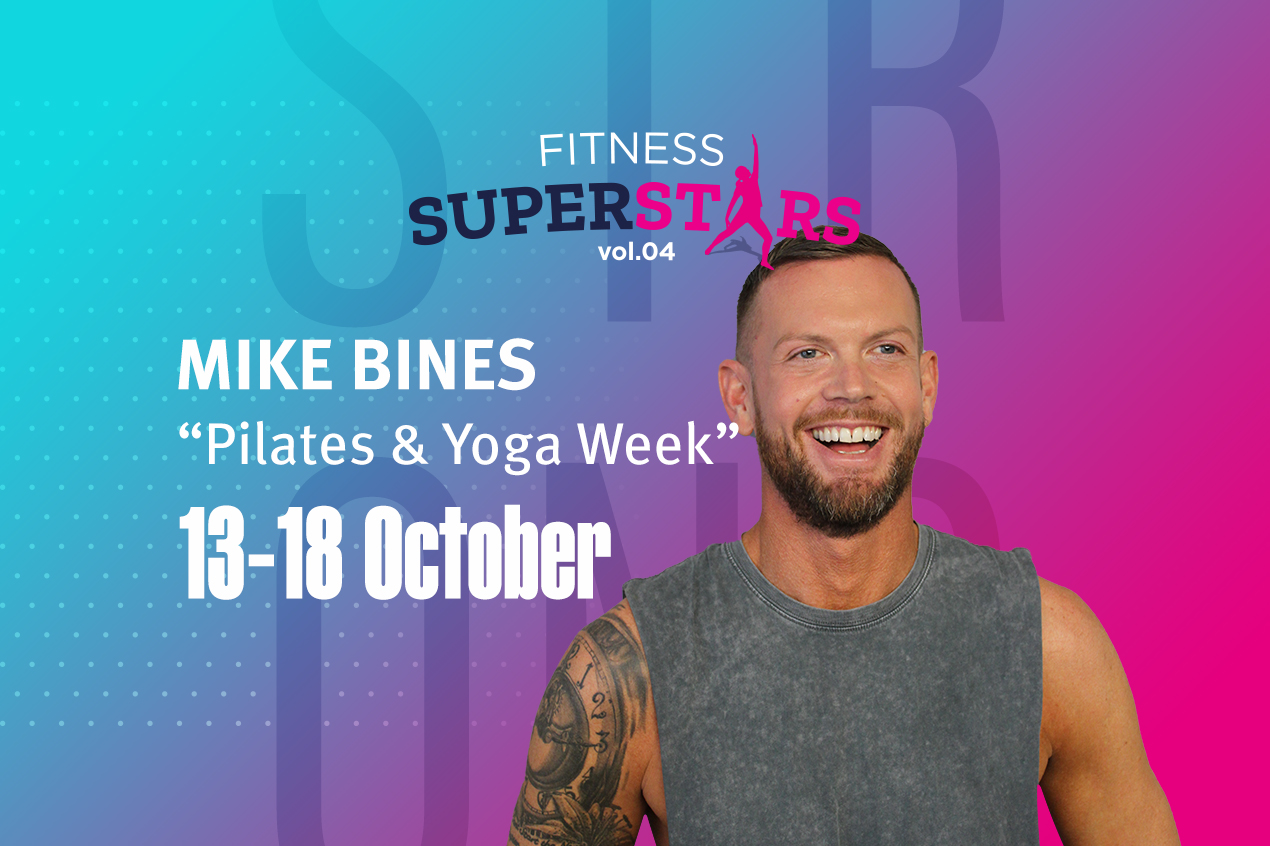 Fitness Superstars continue with Pilates & Yoga Week!